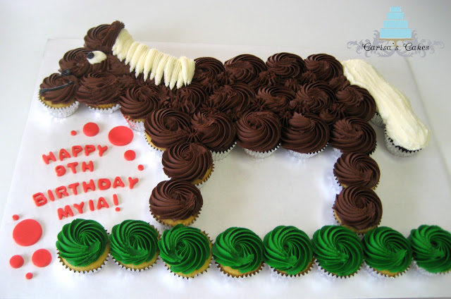 Horse Pull-Apart Cake