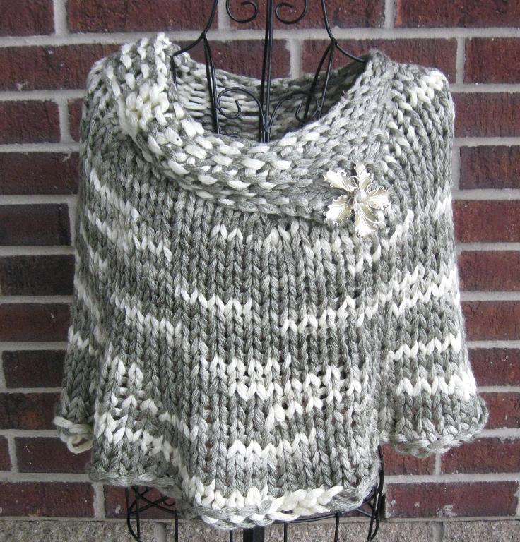 Knit Capelet
