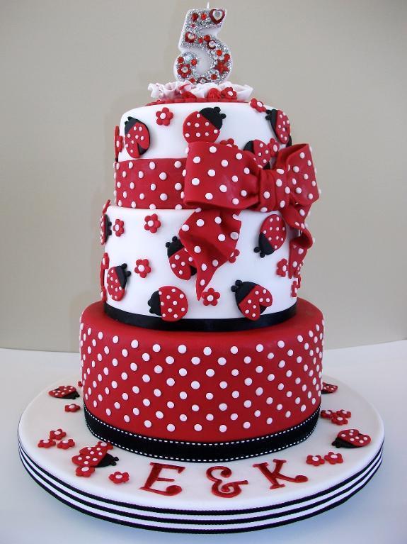 Ladybug Cake