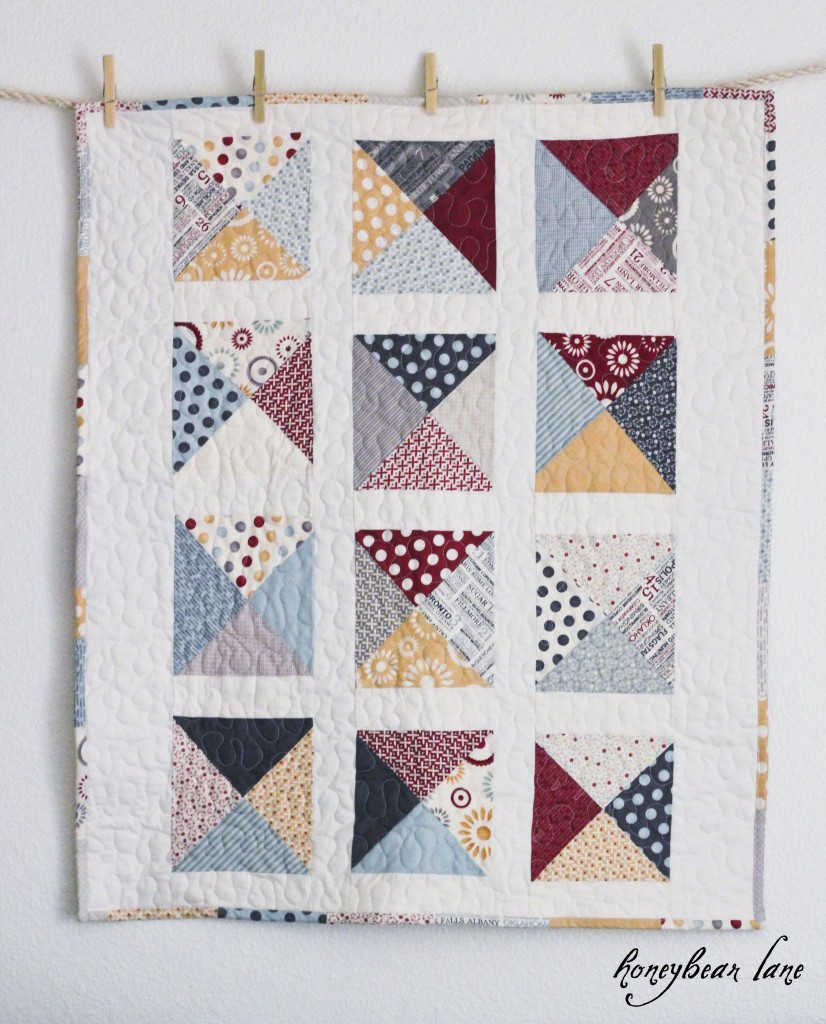 Letters From Home Quilt