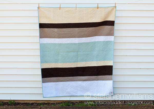 Pieced Quilt Backs on Bluprint: Stripes