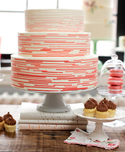 Pink Graphic Cake
