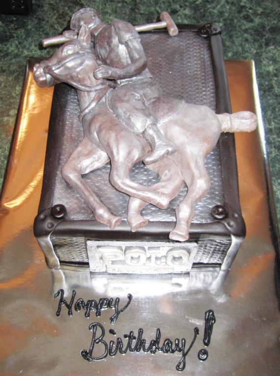 Polo Horse Cake