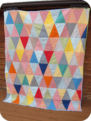 Triangle Picnic Quilt