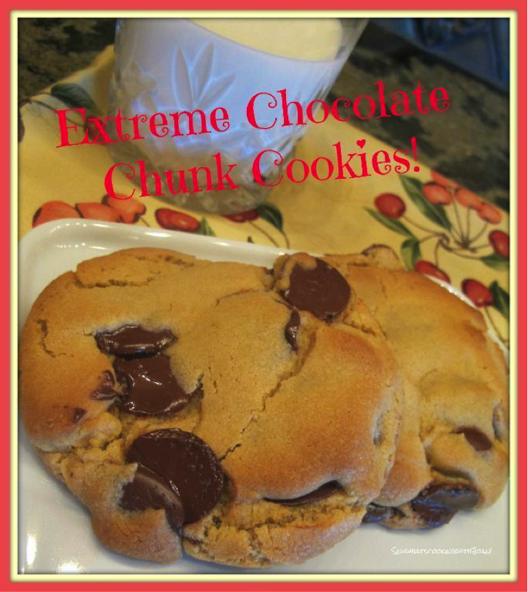 Poster Featuring Gooey Chocolate Chunk Cookie