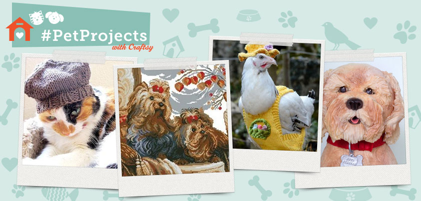 Pet Craft Projects Collage
