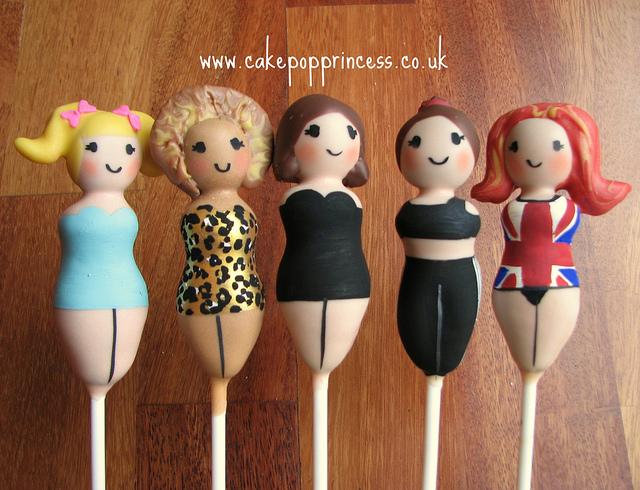 Spice Girls Cake Pops