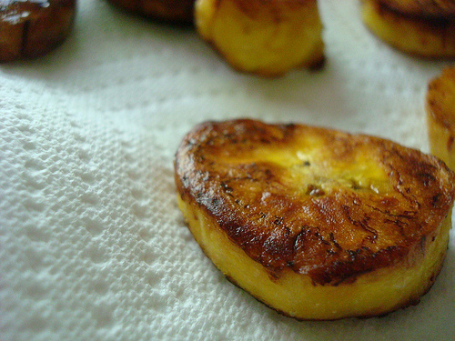 Fried Plantain Pieces