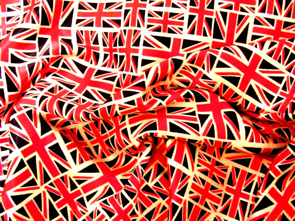Union Jack Patterned Fabric