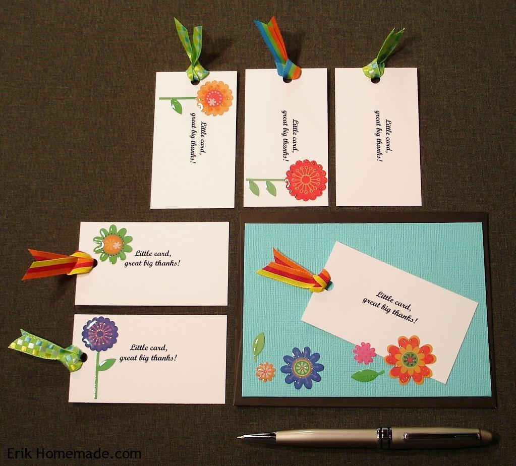 Decorated Cards with Ribbons