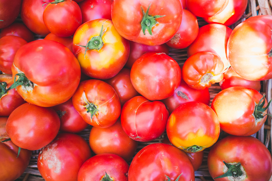 Ruby Red Fresh Tomatoes