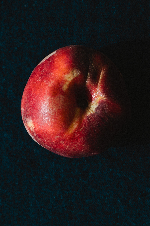 Close Up, Artistic View of Colorful Peach