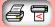 Small Computer Icon - Print