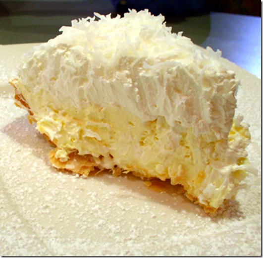 Piece of Banana Cream Pie