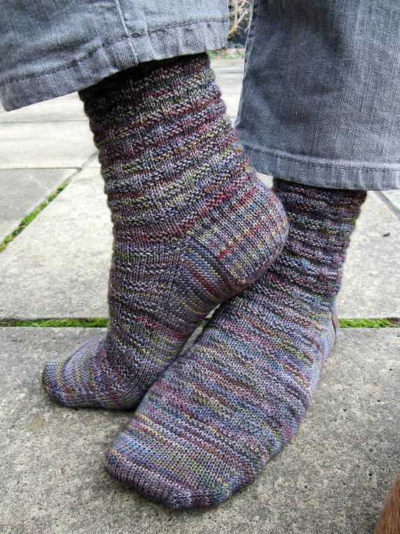 Knit Socks with Jeans