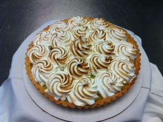 Lemon Tart with Meringue Top