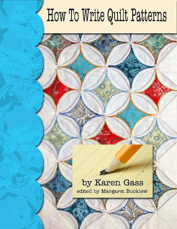 """Book Cover for """"How to Write Quilt Patterns"""""""