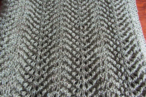 Close Up on Grey Old Shale Baby Blanket