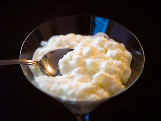 Tapioca Pudding, Silver Spoon Diving In
