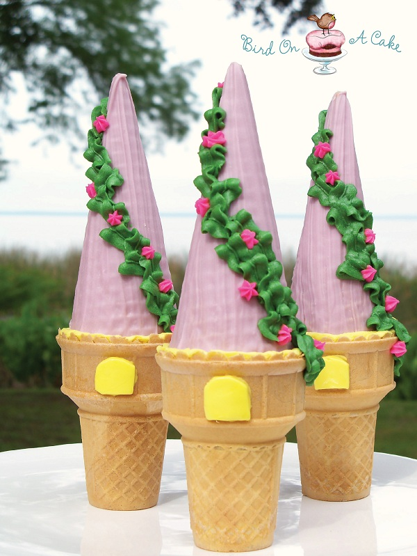 Ice Cream Cone Cupcake Tower Tutorial