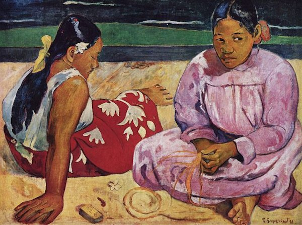 Paul Gauguin, Tahitian Women on the Beach