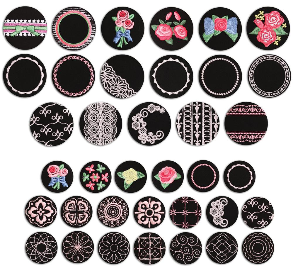 Various Hoop Designs
