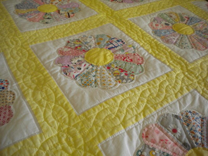 Floral Patterned Quilt