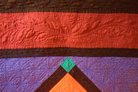 Detail Shot of Amish Quilt