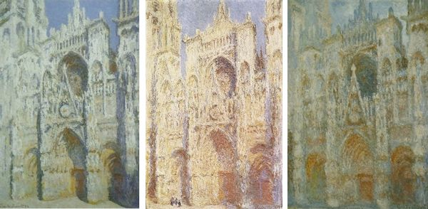 "Claude Monet ""Cathedrale de Rouen"" Paintings"