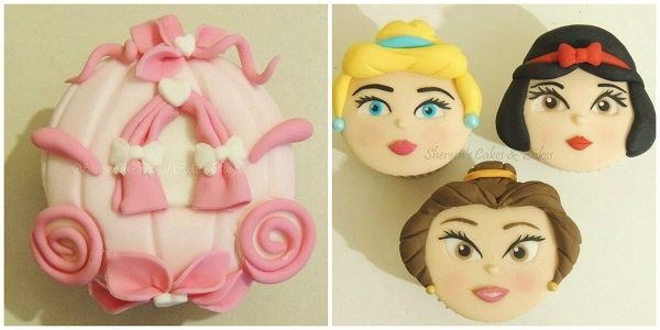 Carriage and Princess Cupcakes