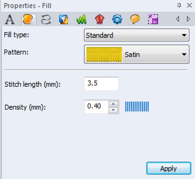 Changing Density Option on Computer Program