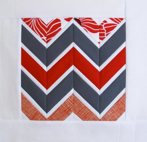 Chevron Block Quilt
