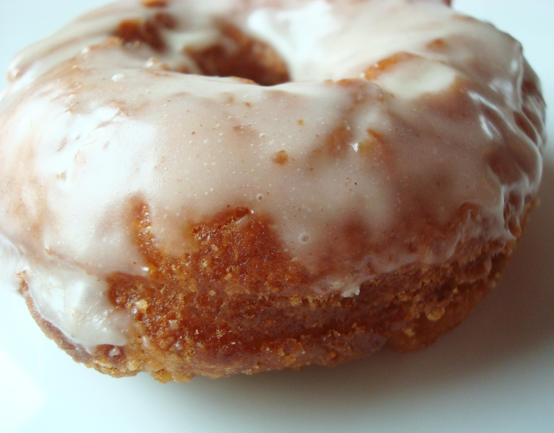 Close Up on Glazed Doughnuts