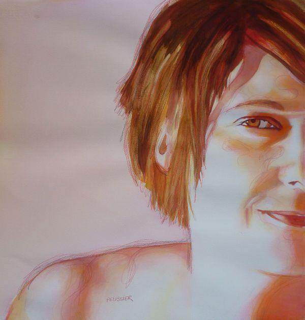 Auto portrait by Sandrine Pelissier