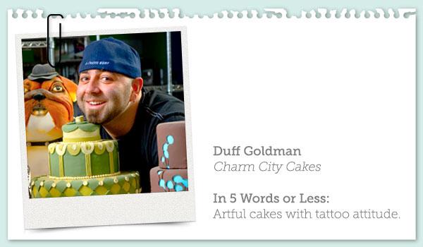 Photo and Brief Profile of Duff Goldman