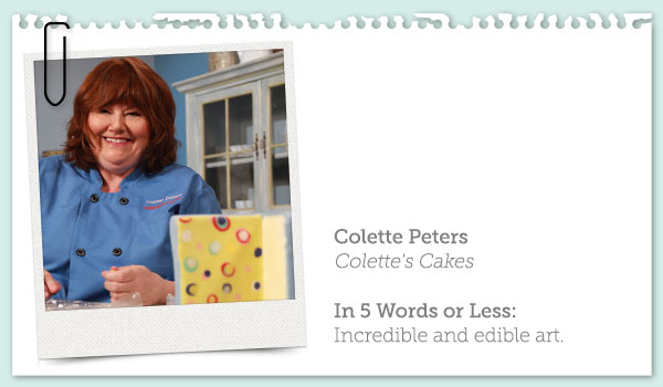 Image and Brief Bio of Colette Peters