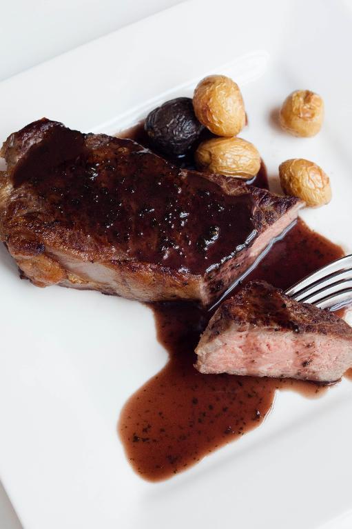 Sauce Espagnole on Beef