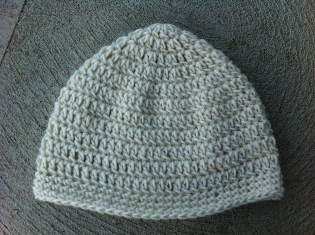Grey Crochet Winter Hat