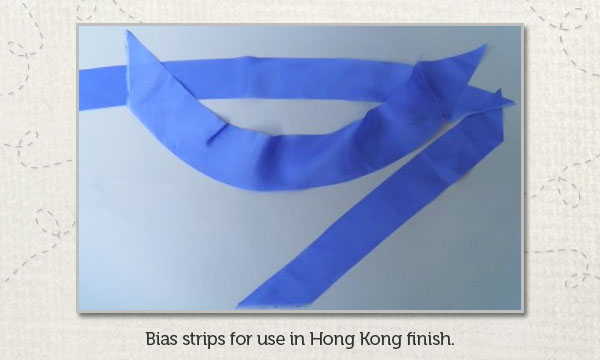 Periwinkle Ambiance bias strips