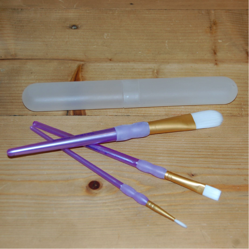 Brushes and Holder