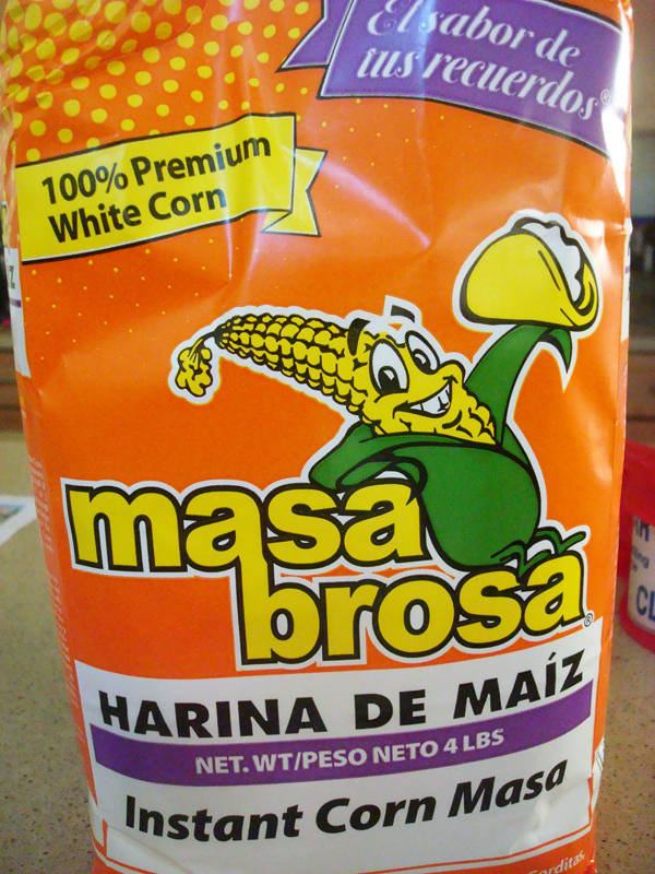 Bag of Corn Masa