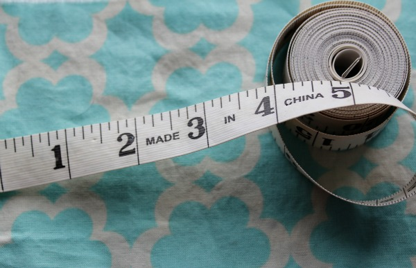 Close Up on Measuring Tape