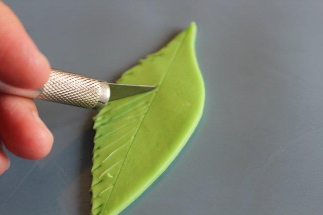 Adding Further Texture to Modeling Chocolate Leaf