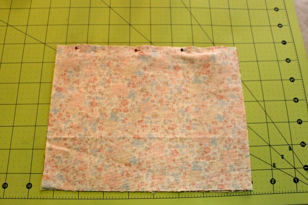 Pinned fabric on Gridded Surface