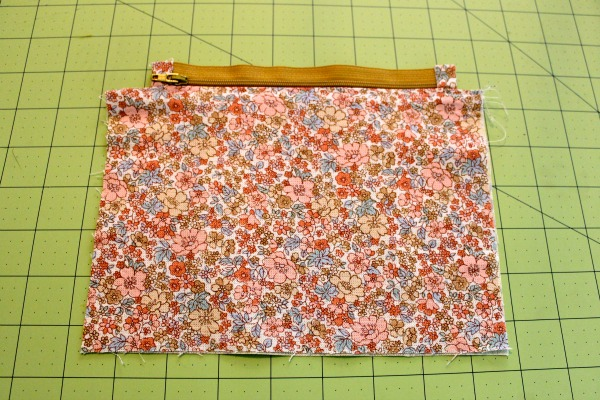 Installing Zipper into Fabric
