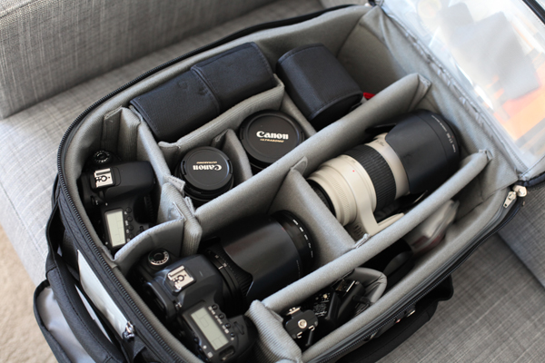 Some of the essential equipment for a wedding photographer