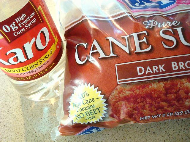 Karo Syrup and Dark Brown Sugar