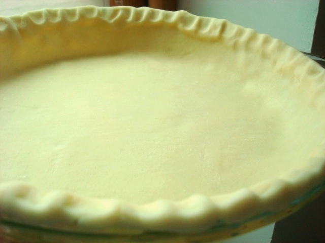 Uncooked Pie Crust