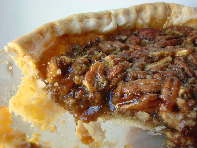 Finished Homemade Pecan Pie on Bluprint