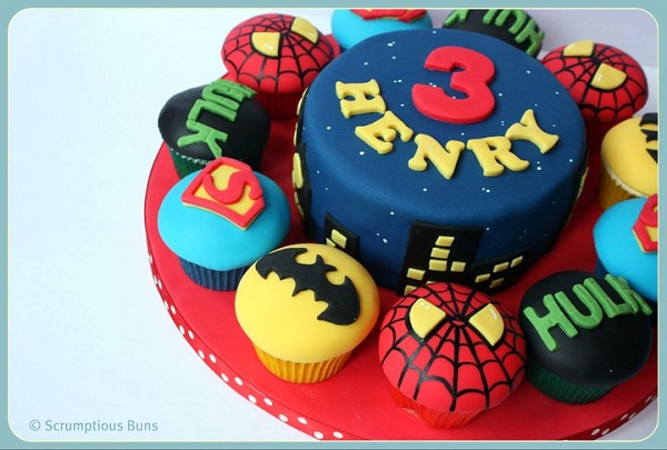 Superhero Cupcake Collection